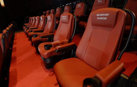 Кресло по технологии D-Box 3d