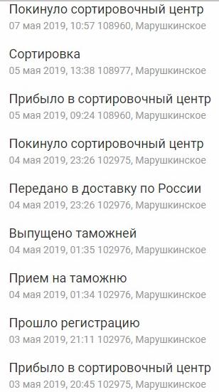 Адрес и подробная информация о сортировочном центре Марушкинское