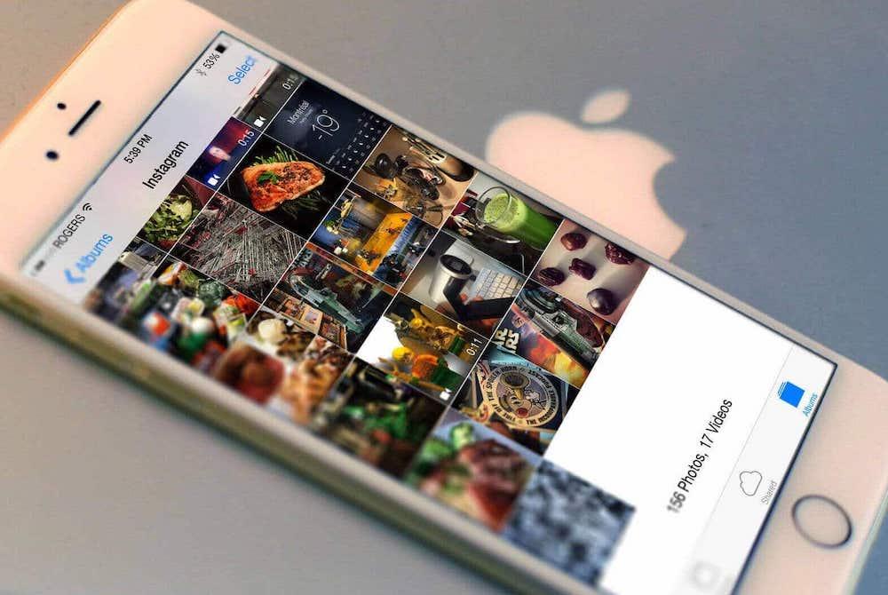 Как с Instagram скачать фотографии на айфон